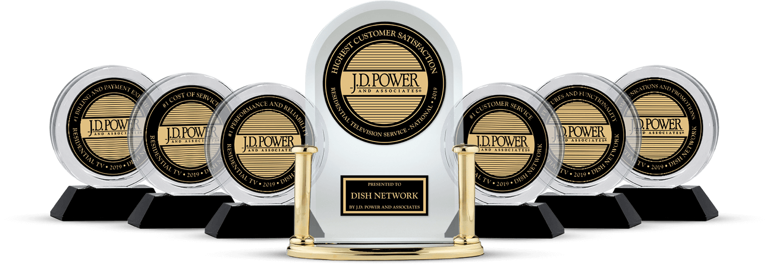 DISH Customer Satisfaction - Ranked #1 by JD Power - N.E.A Satellites in Amory, MS - DISH Authorized Retailer